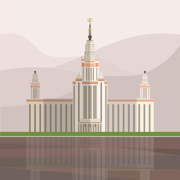 Illustrazione del palazzo di trionfo