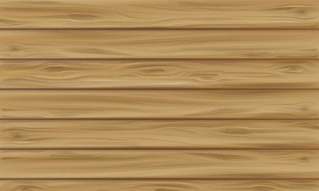Illustrazione del pannello di legno del fondo di legno realistico di struttura con il modello senza cuciture della plancia