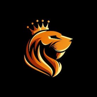 Illustrazione del re leone