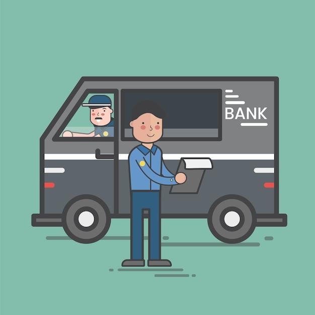 Illustrazione del set di vettore di finanze