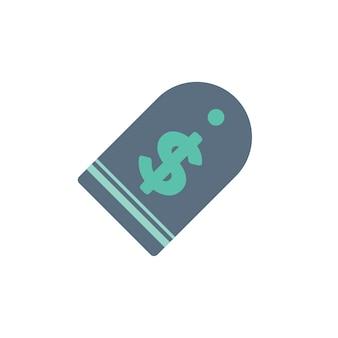 Illustrazione del tag etichetta