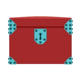 Illustrazione del tesoro della scatola del petto