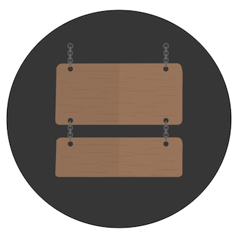 Illustrazione del vettore segno vuoto