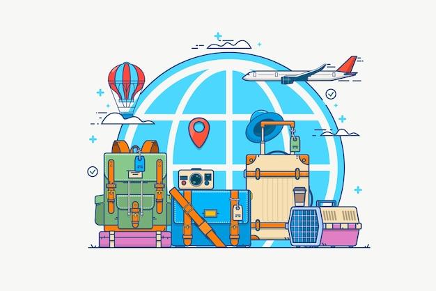 Illustrazione del viaggio