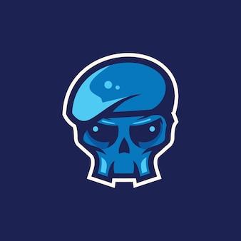Illustrazione dell'esercito di cranio
