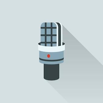 Illustrazione dell'icona del microfono