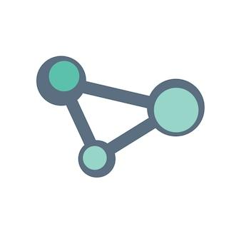Illustrazione dell'icona di condivisione