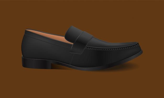 Illustrazione dell'icona di scarpa. scarpe da uomo