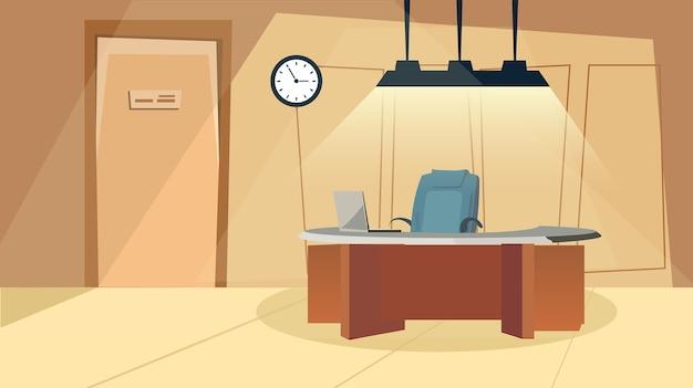 Illustrazione dell'interno dell'ufficio elegante