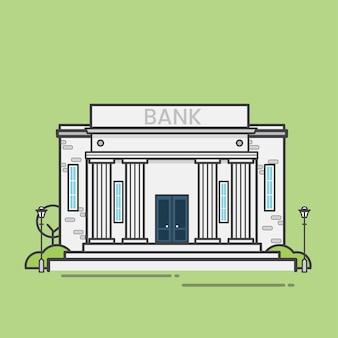 Illustrazione della banca