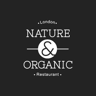 Illustrazione della bandiera del bollo dell'alimento biologico