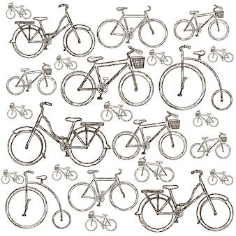 Illustrazione della bicicletta