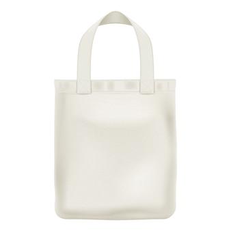 Illustrazione della borsa shopper tote eco tessile.
