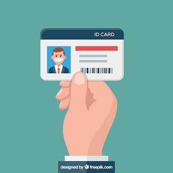 Illustrazione della carta d'identità