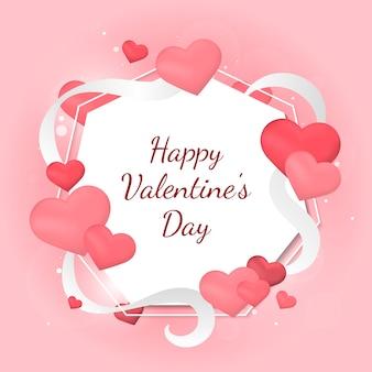 Illustrazione della carta di San Valentino