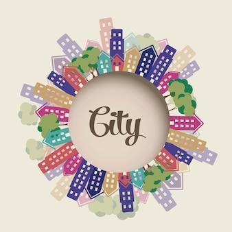 Illustrazione della città