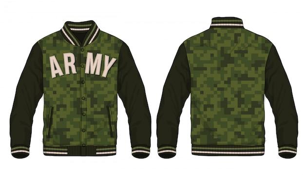 Illustrazione della giacca sportiva.