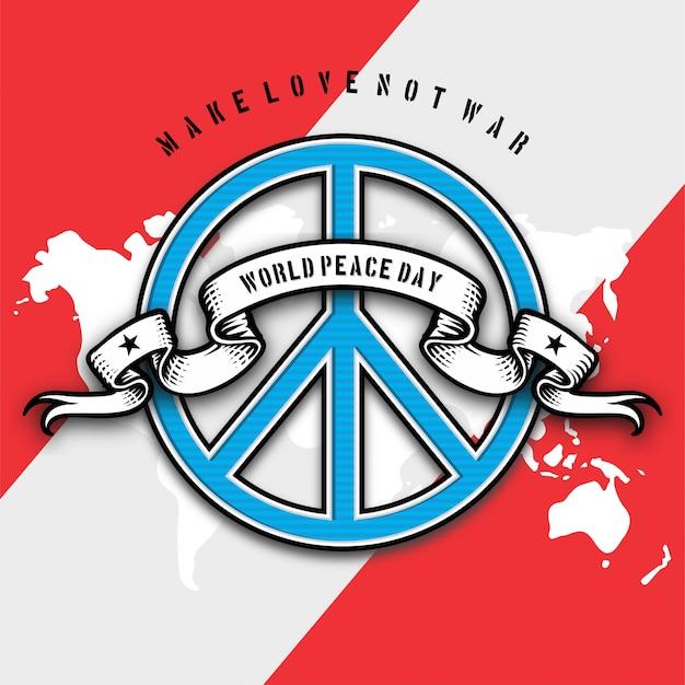 Illustrazione della giornata internazionale della pace