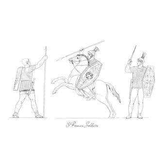 Illustrazione della grecia antica