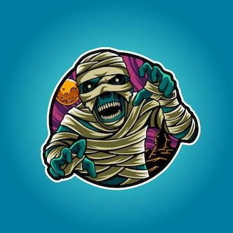 Illustrazione della mummia