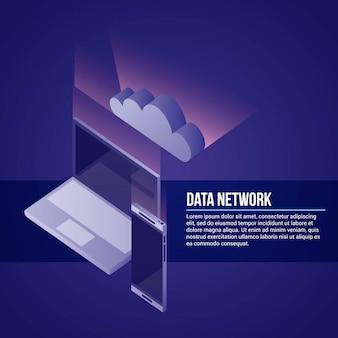 Illustrazione della rete dati