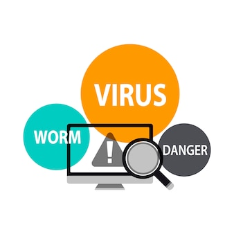Illustrazione della rilevazione del virus