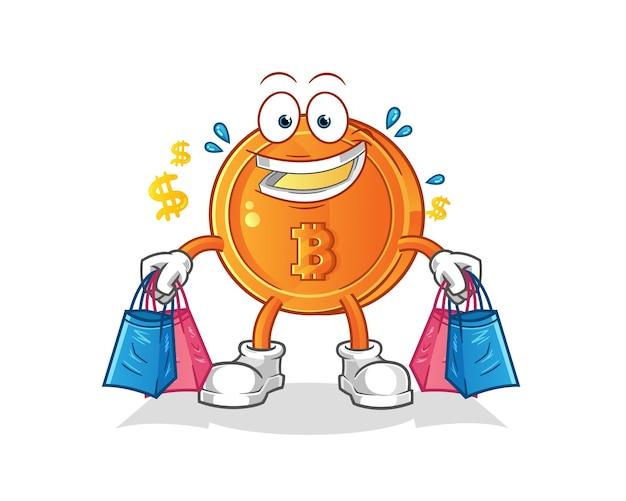 Illustrazione di acquisto di bitcoin