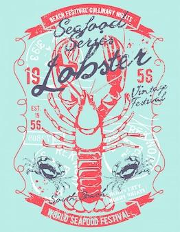 Illustrazione di aragosta