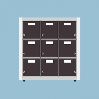 Illustrazione di archiviazione dell'archivio file