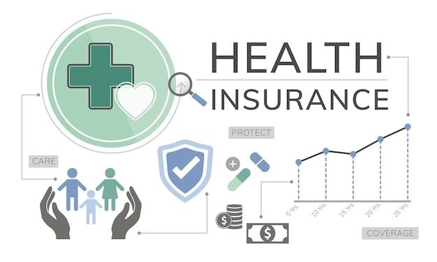 Illustrazione di assicurazione sulla vita