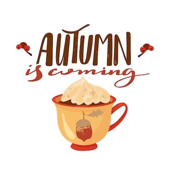 Illustrazione di autunno.