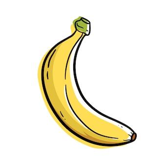 Illustrazione di cartone animato di banana