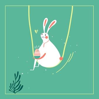 Illustrazione di celebrazione di pasqua