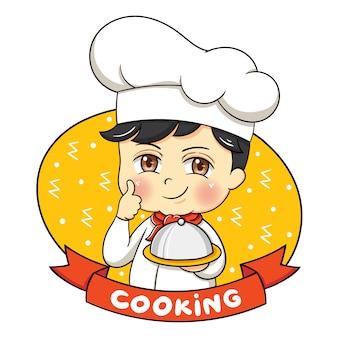 Illustrazione di chef personaggio maschile