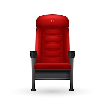 Illustrazione di cinema seat
