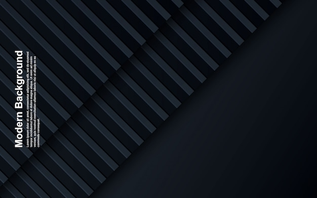 Illustrazione di colore nero e blu del fondo astratto