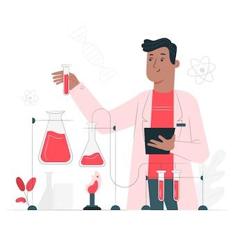 Illustrazione di concetto di scienza