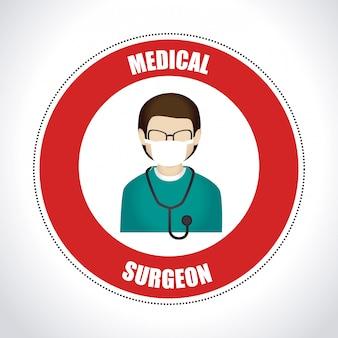 Illustrazione di design medico