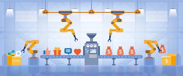Illustrazione di dipendenza di social network
