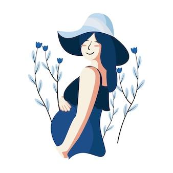 Illustrazione di donne in gravidanza