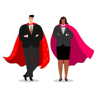 Illustrazione di dreamteam di affari