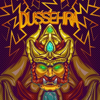 Illustrazione di dussehra
