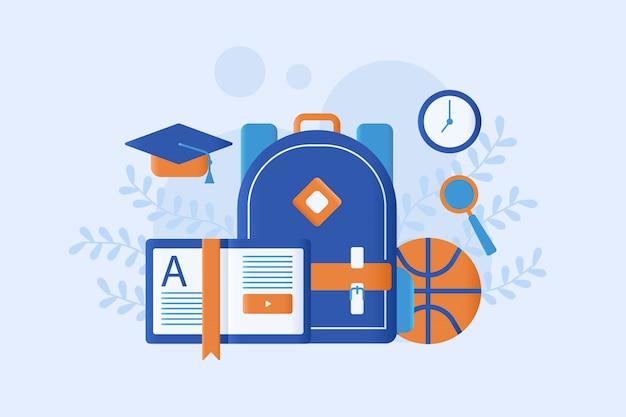 Illustrazione di educazione