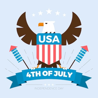 Illustrazione di festa dell'indipendenza