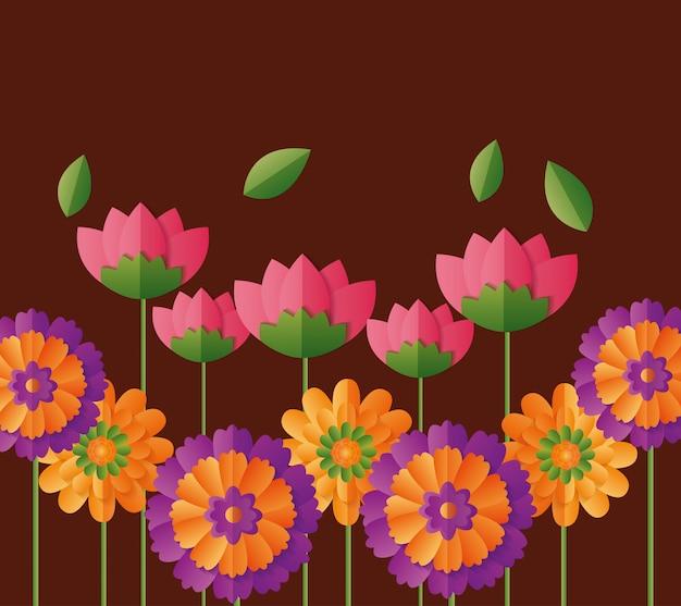 Illustrazione di fiori