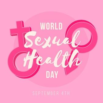 Illustrazione di giornata mondiale della salute sessuale