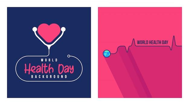 Illustrazione di giornata mondiale della salute
