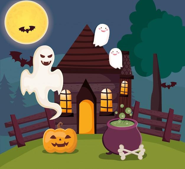 Illustrazione di halloween carino