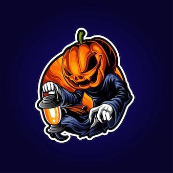 Illustrazione di halloween jack o lantern
