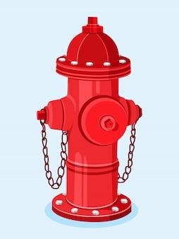 Illustrazione di idrante antincendio